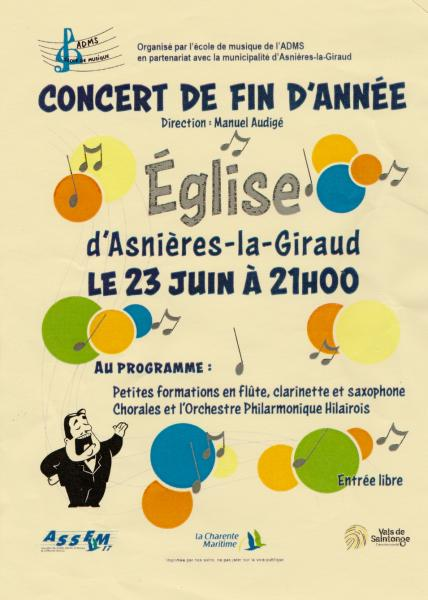 Concert eglise 2017